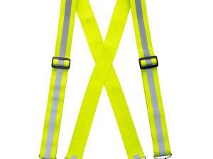 Szelki do spodni w kolorze ostrzegawczym