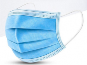 Niebieska maska ochronna typu II.