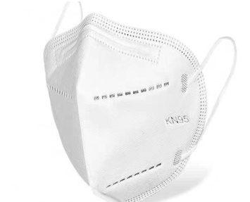 Biała maska ochronna KN95 (FFP2)