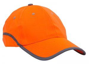 czapka pomarańczowa