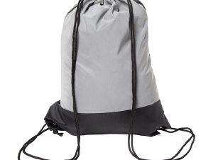plecak srebrny